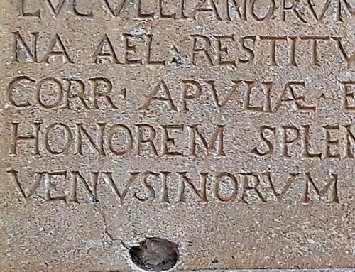 Venosa, il cemento che cancella la pietra