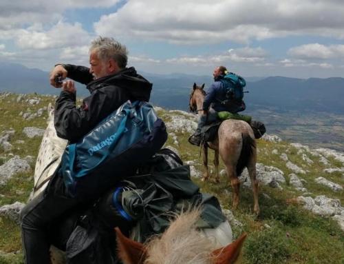 A cavallo, lungo tratturi e mulattiere della Lucania